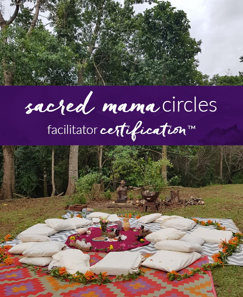 Sacred Mama Circles Facilitator Certification